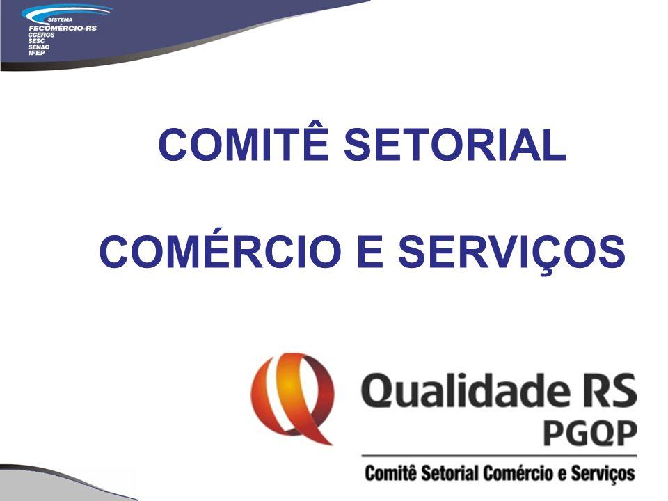 COMITÊ SETORIAL COMÉRCIO E SERVIÇOS