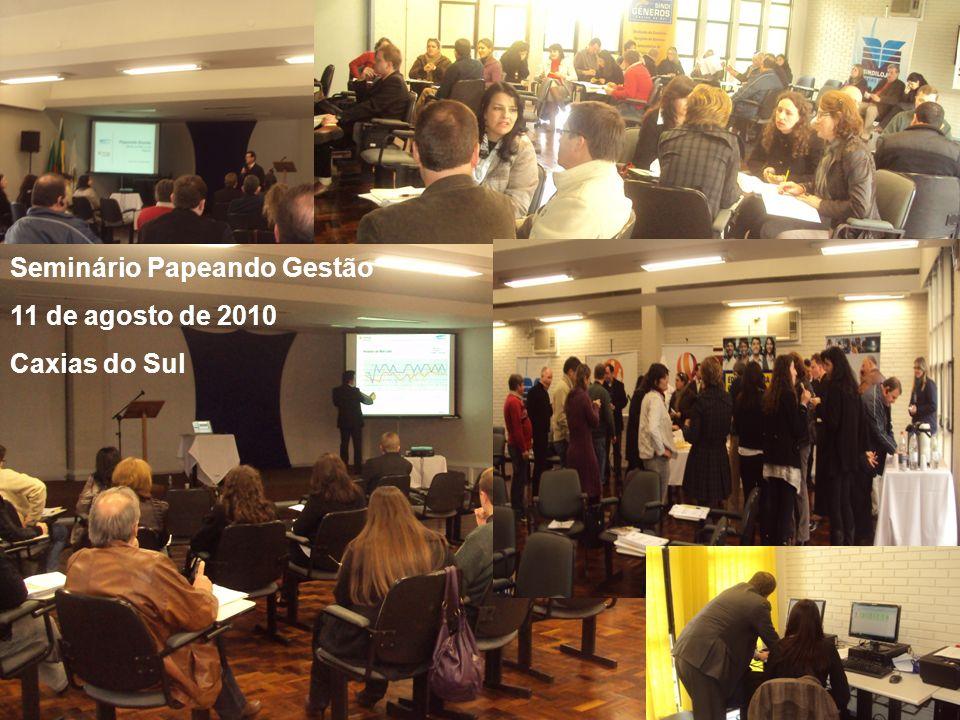 Seminário Papeando Gestão 11 de agosto de 2010 Caxias do Sul