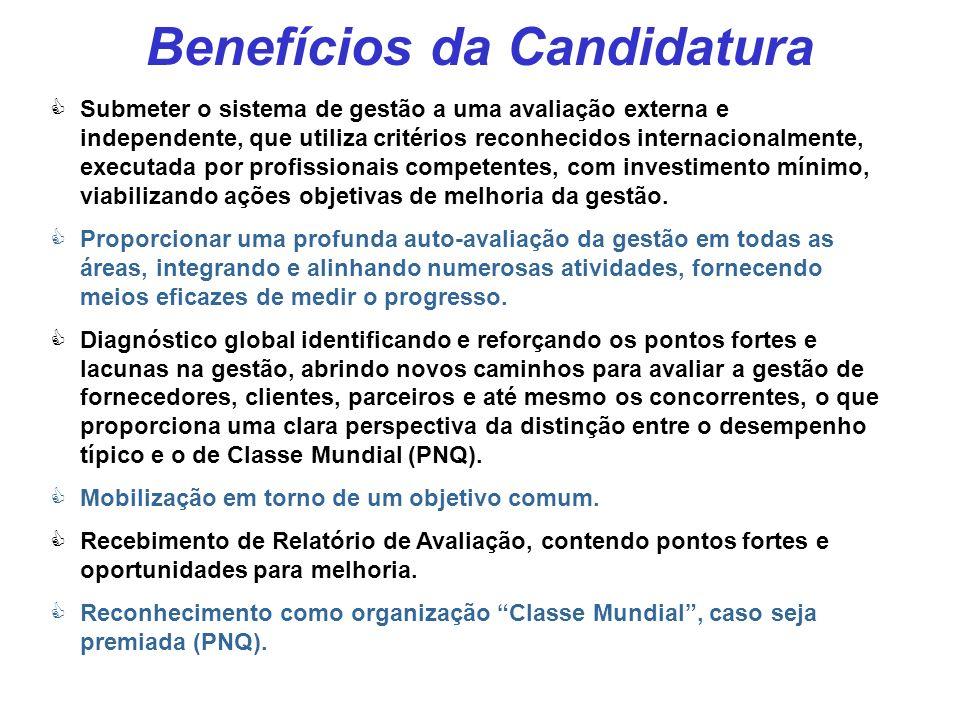 Relatório de Avaliação - RA Todas as candidatas recebem um RA após deixar o processo A 1ª Parte é padrão e redigida pela FNQ Introdução Referências Pr