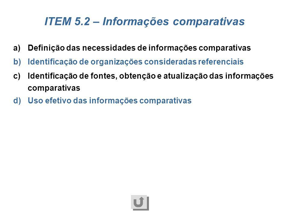 a)Identificação de necessidades b)Estruturação de sistemas de informação c)Atualização tecnológica d)Disponibilização das informações e)Segurança das