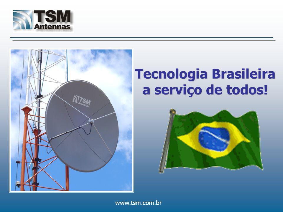 www.tsm.com.br A Empresa Nós teremos o maior conceito na América Latina em pesquisa, desenvolvimento e fabricação de dispositivos passivos de RF.