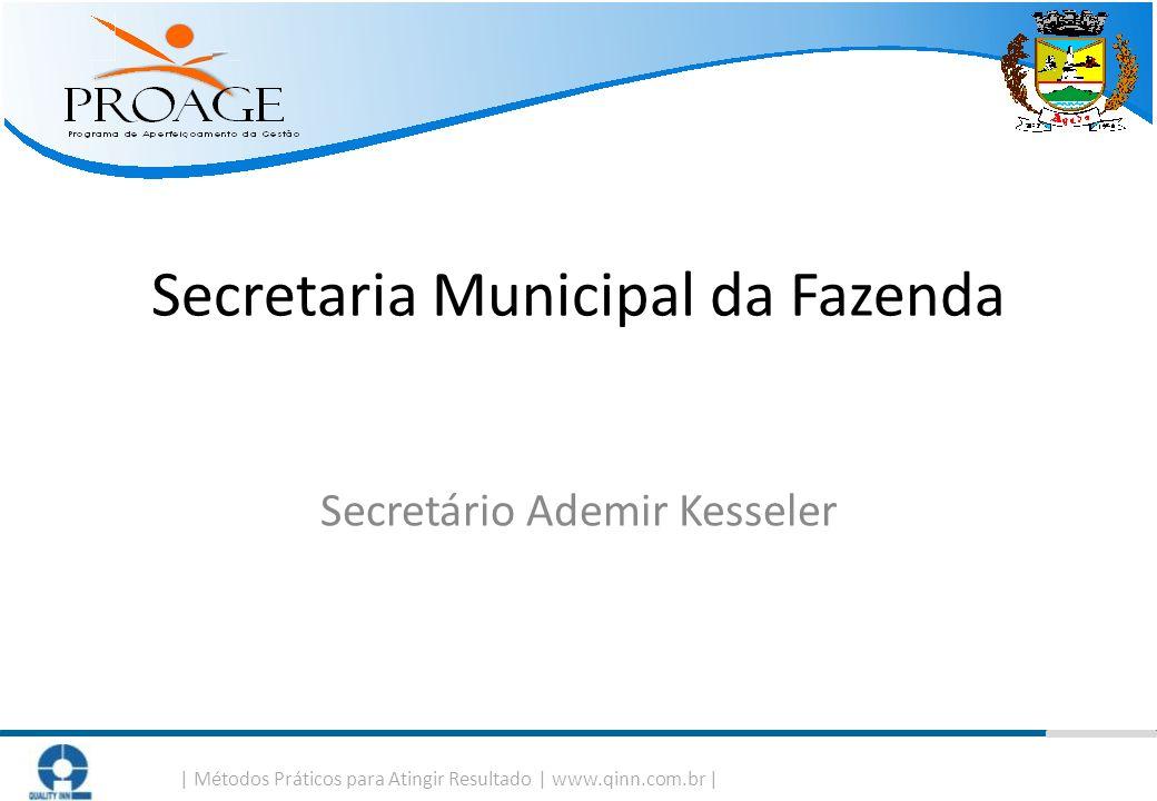 Secretaria Municipal da Fazenda Secretário Ademir Kesseler