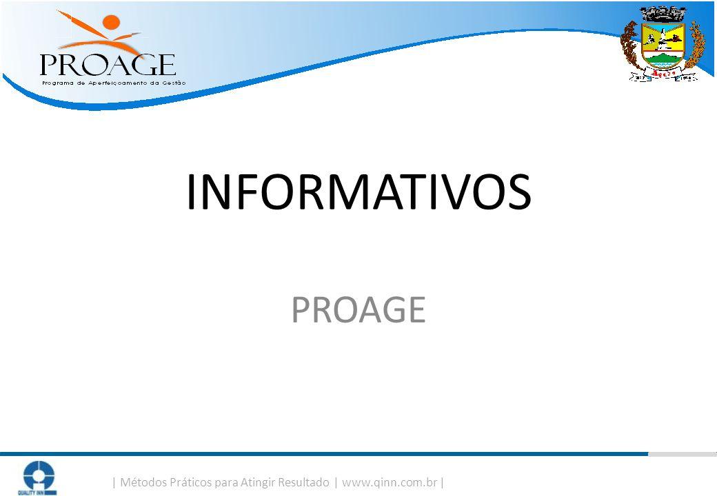   Métodos Práticos para Atingir Resultado   www.qinn.com.br   INFORMATIVOS PROAGE