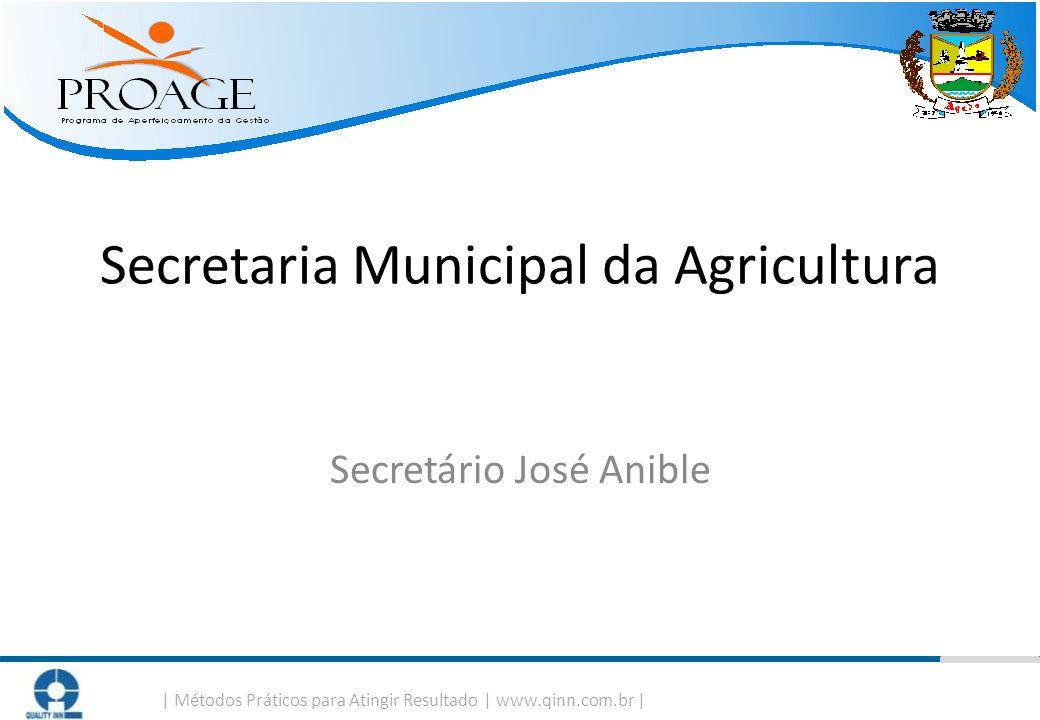 Secretaria Municipal da Agricultura Secretário José Anible