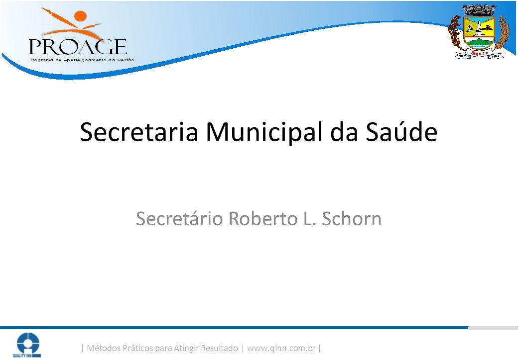 Secretaria Municipal da Saúde Secretário Roberto L. Schorn
