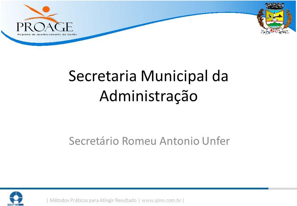 Secretaria Municipal da Administração Secretário Romeu Antonio Unfer
