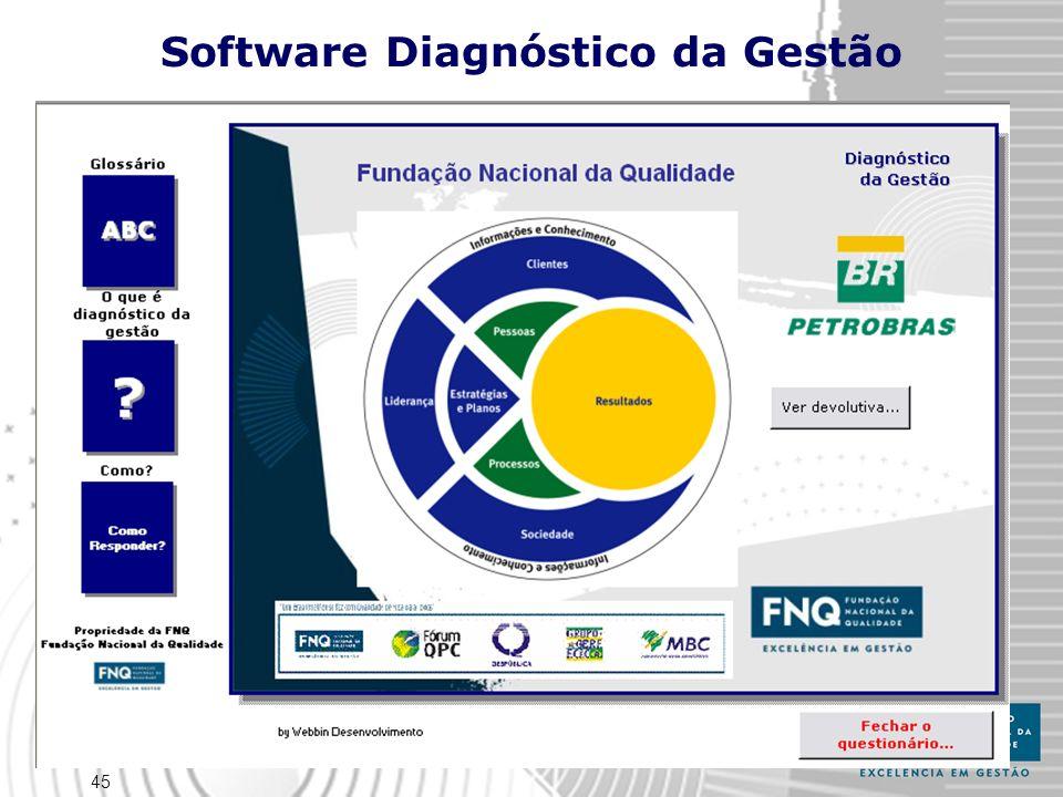 45 Software Diagnóstico da Gestão