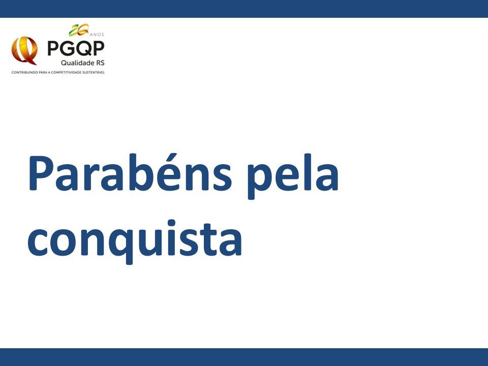 Obrigado Rodrigo Hoffmann Gerente de Comunicação do PGQP comunicacao@qualidade-rs.org.br