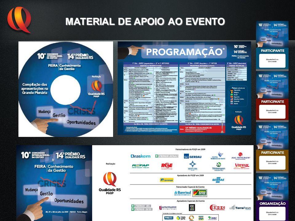 MATERIAL DE APOIO AO EVENTO