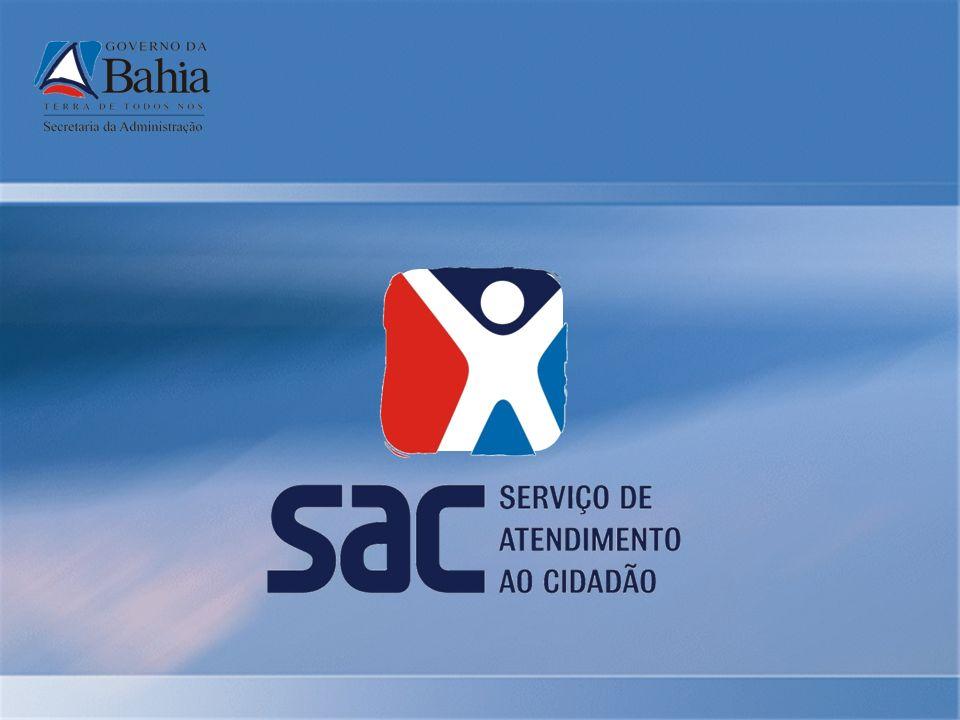 Gestão da Qualidade Política Manter a excelência na qualidade de atendimento nos serviços públicos ao cidadão, comprometendo-se com o desenvolvimento dos colaboradores, fortalecimento da relação com os parceiros, melhoria contínua dos processos e expansão do padrão de atendimento SAC Sistema Concebido para documentar, implementar, manter e melhorar continuamente a eficácia da gestão da qualidade na SAC, de acordo com os requisitos da Norma ISO 9001:2000