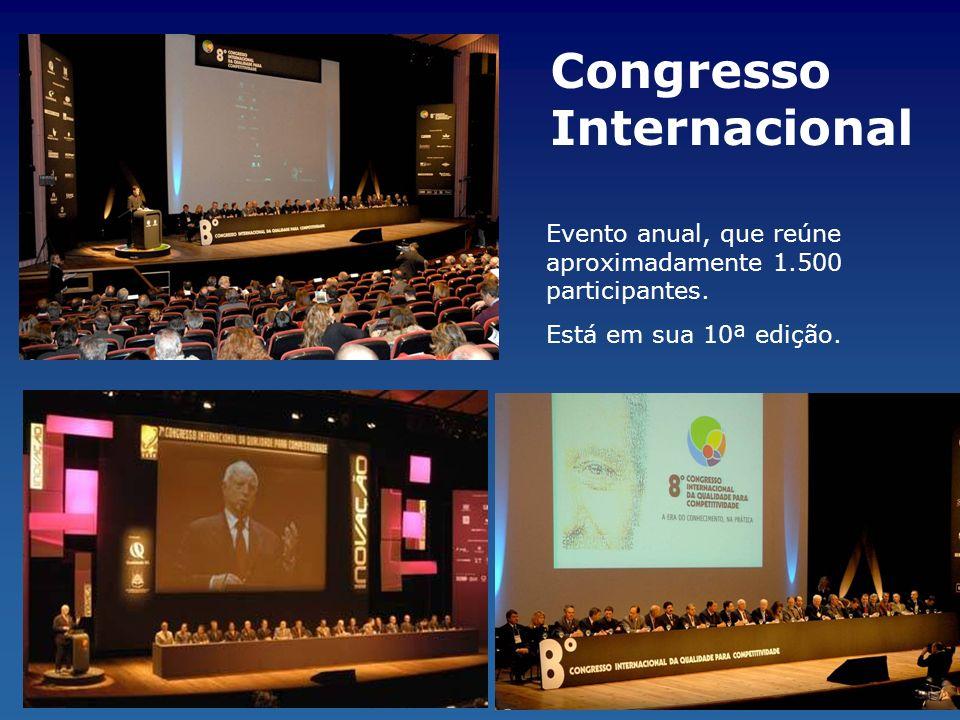 Congresso Internacional Evento anual, que reúne aproximadamente 1.500 participantes. Está em sua 10ª edição.