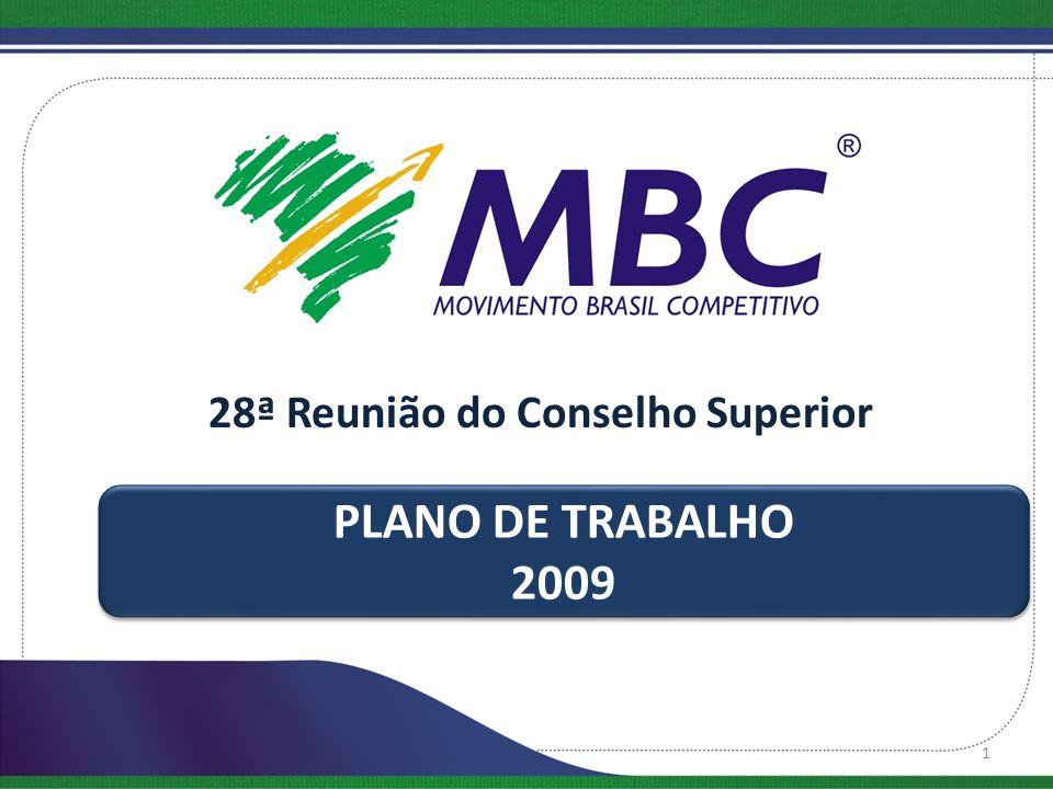 Missão : contribuir expressivamente para a melhoria da competitividade das organizações privadas e da qualidade e produtividade das organizações públicas de maneira sustentável, elevando a qualidade de vida da população brasileira.