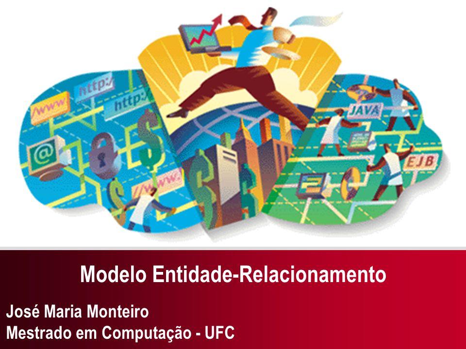 José Maria Monteiro Mestrado em Computação - UFC Modelo Entidade-Relacionamento