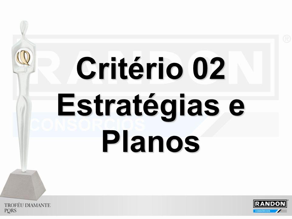 Critério 02 Estratégias e Planos