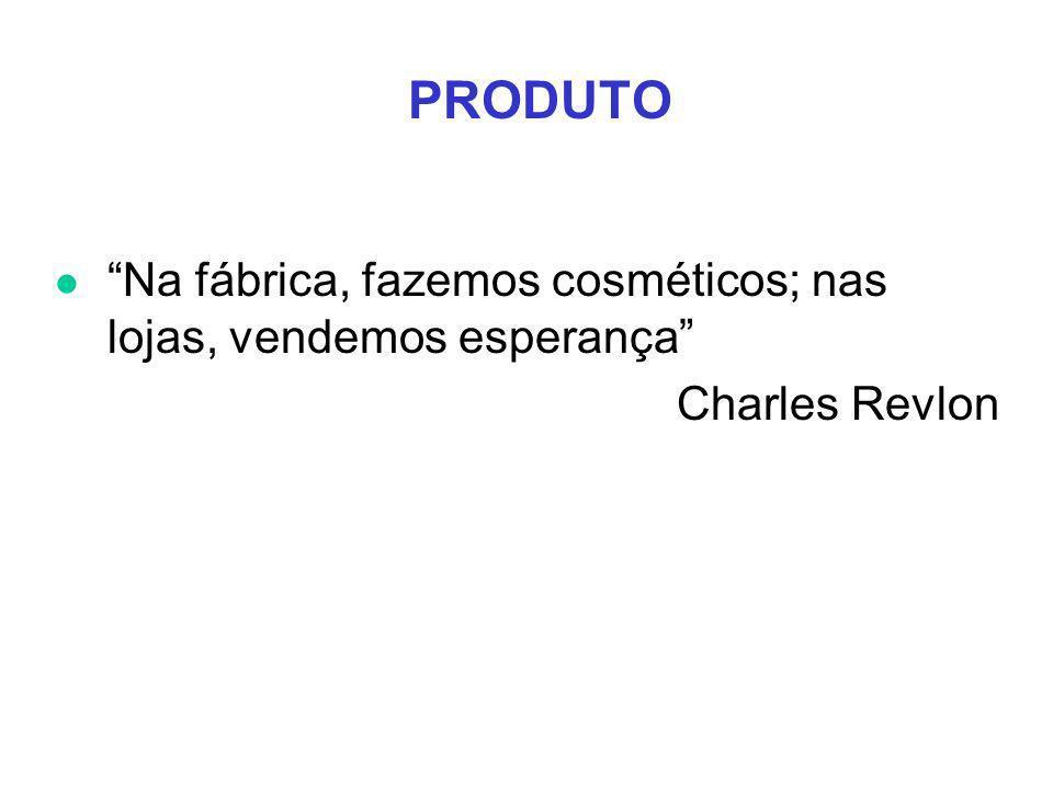 PRODUTO l Na fábrica, fazemos cosméticos; nas lojas, vendemos esperança Charles Revlon