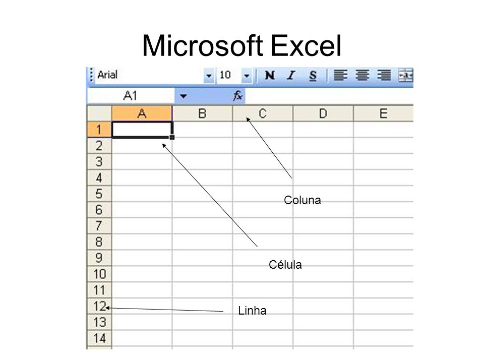 Microsoft Excel Referências (Travar Células) B$5 – Trava na Linha 5 $B5 - Trava na Coluna B $B$5 – Trava Coluna B e na linha 5