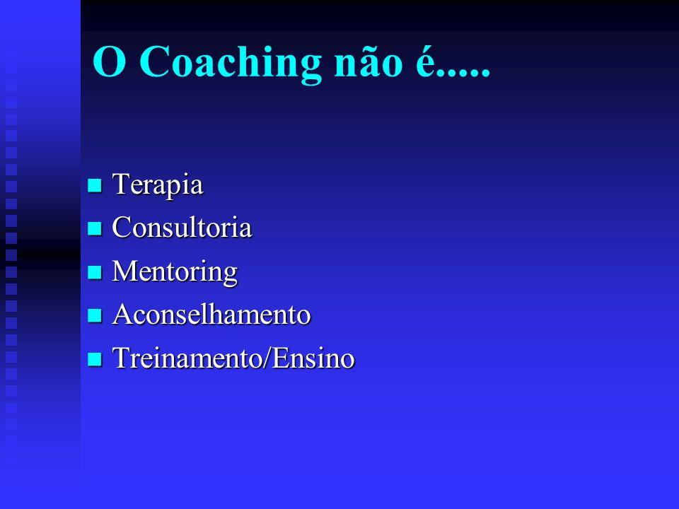 O Coaching não é.....