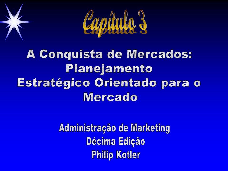 ©2000 Prentice Hall Objetivos ä O planejamento estratégico corporativo em nível de divisão ä O planejamento estratégico de negócios ä O processo de marketing ä O planejamento de produto ä O plano de marketing