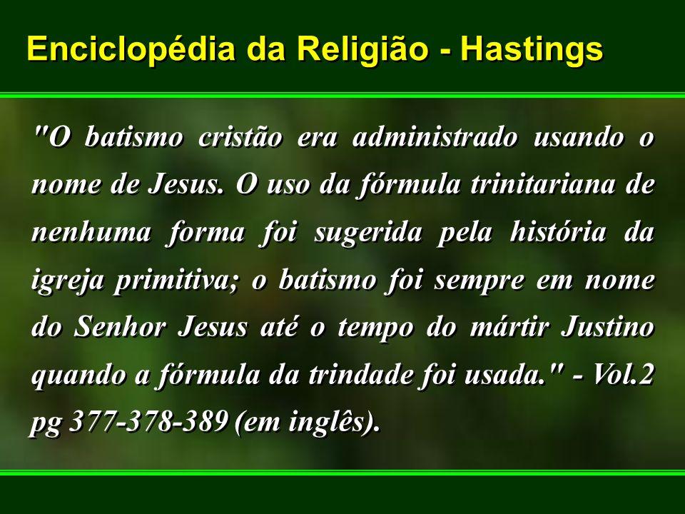 Enciclopédia da Religião - Hastings Enciclopédia da Religião - Hastings