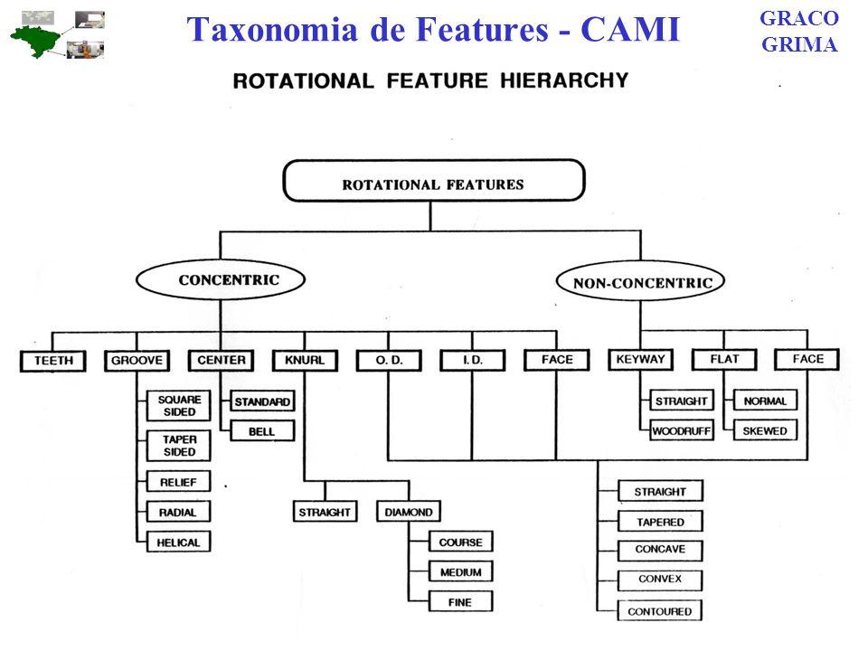 Taxonomia de Features - CAMI GRACO GRIMA