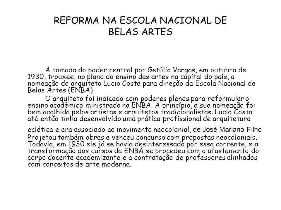 A sede do Ministério da Educação e Saúde é considerada o ponto inicial de uma arquitetura moderna de feitio brasileiro.