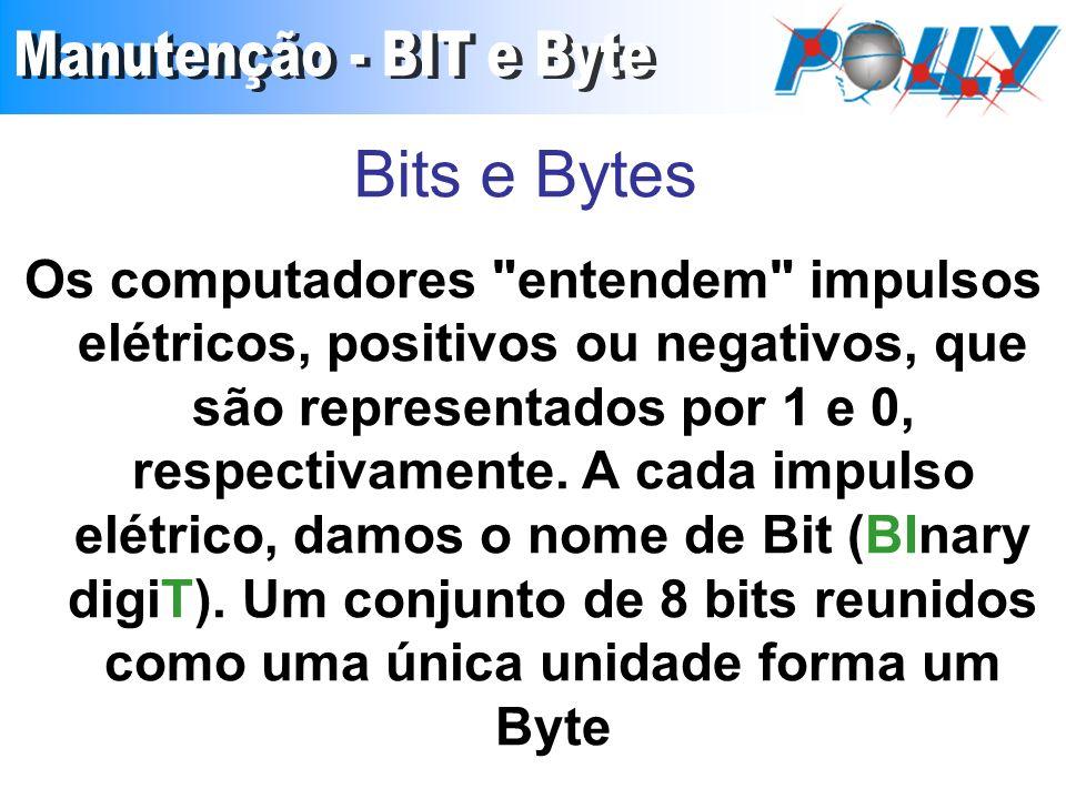 Bits e Bytes Os computadores