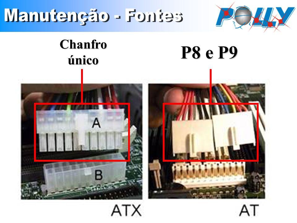 P8 e P9 Chanfro único