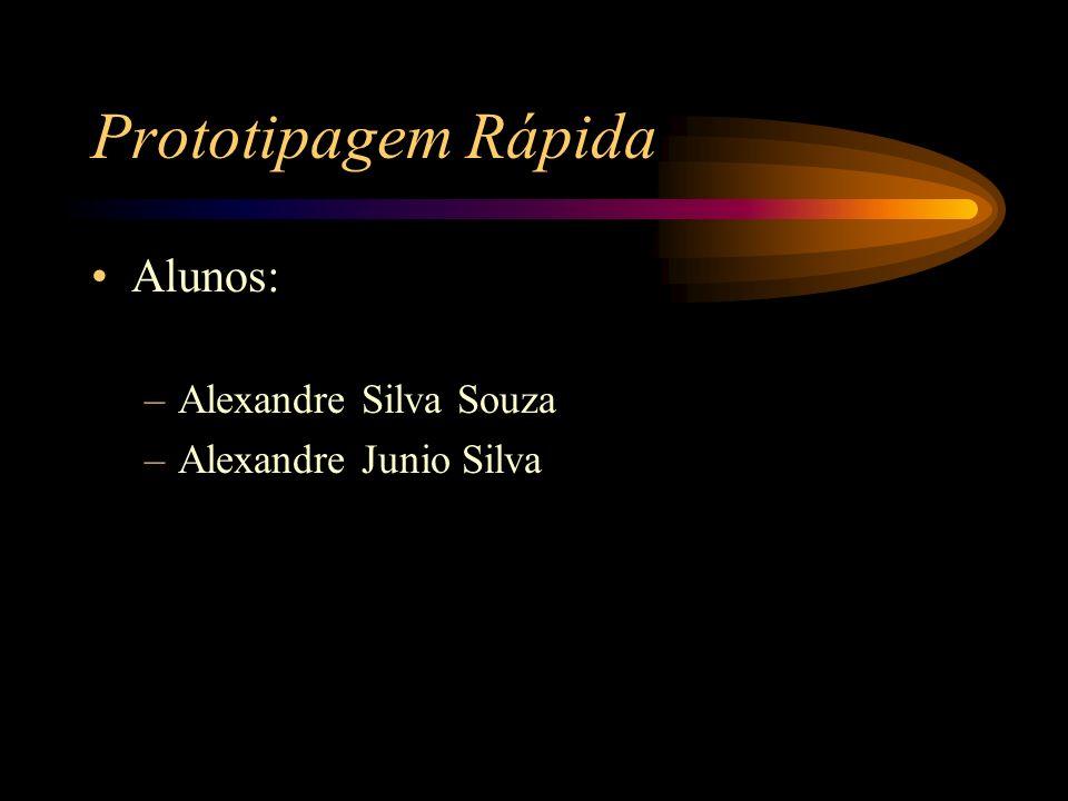 Prototipagem Rápida Alunos: –Alexandre Silva Souza –Alexandre Junio Silva