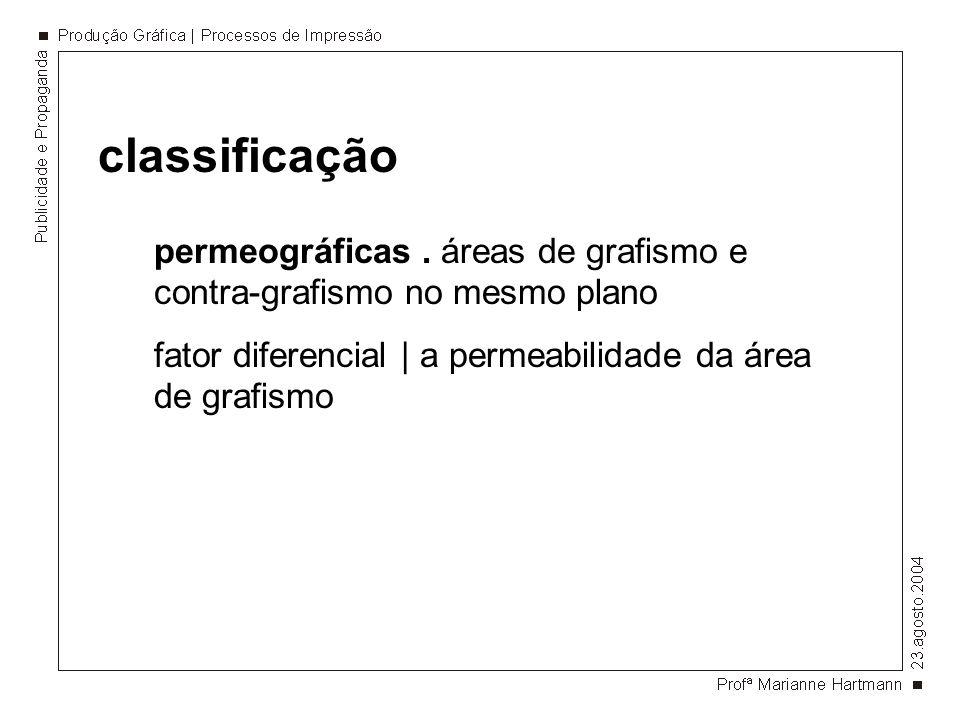 permeográficas. áreas de grafismo e contra-grafismo no mesmo plano fator diferencial   a permeabilidade da área de grafismo