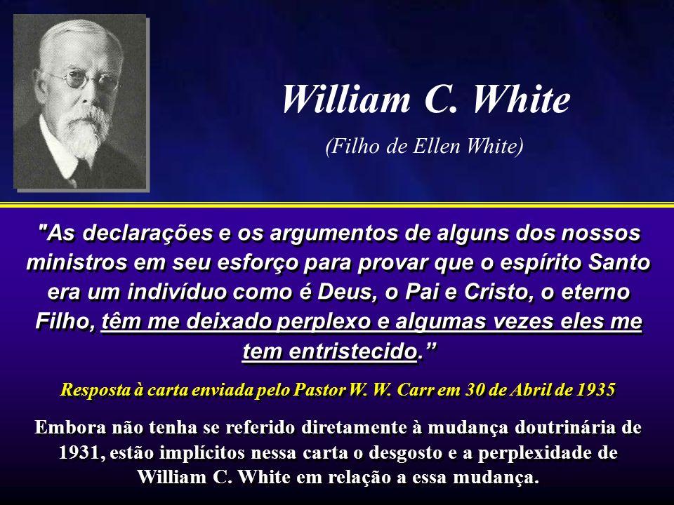 William C. White (Filho de Ellen White)
