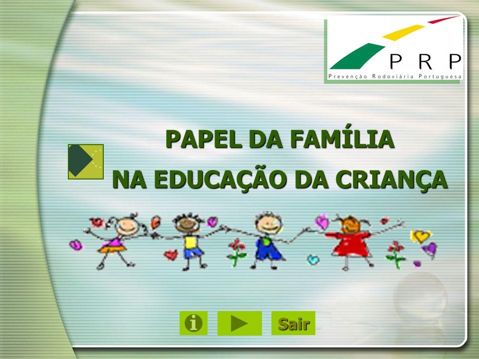PAPEL DA FAMÍLIA NA EDUCAÇÃO DA CRIANÇA Sair