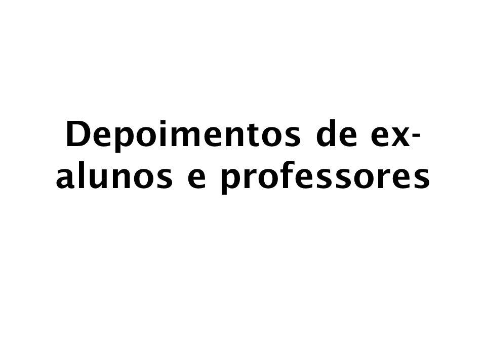 Ex-aluna do núcleo Bacia da Lagoa 2002 / EJA, enquanto estudava no Ensino Médio Estadual