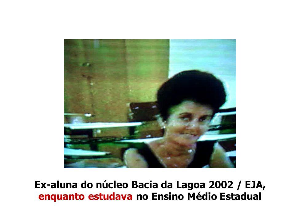 Festa de Formatura no ensino médio estadual regular em julho de 2005 dos mesmos ex- alunos do núcleo Bacia da Lagoa 2002 / EJA