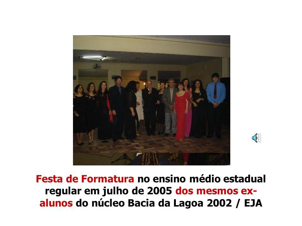 Professora de português Thaís Orosco da Silva Alves 05/12/2002.