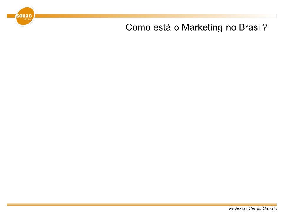 Professor Sergio Garrido Como está o Marketing no Brasil?