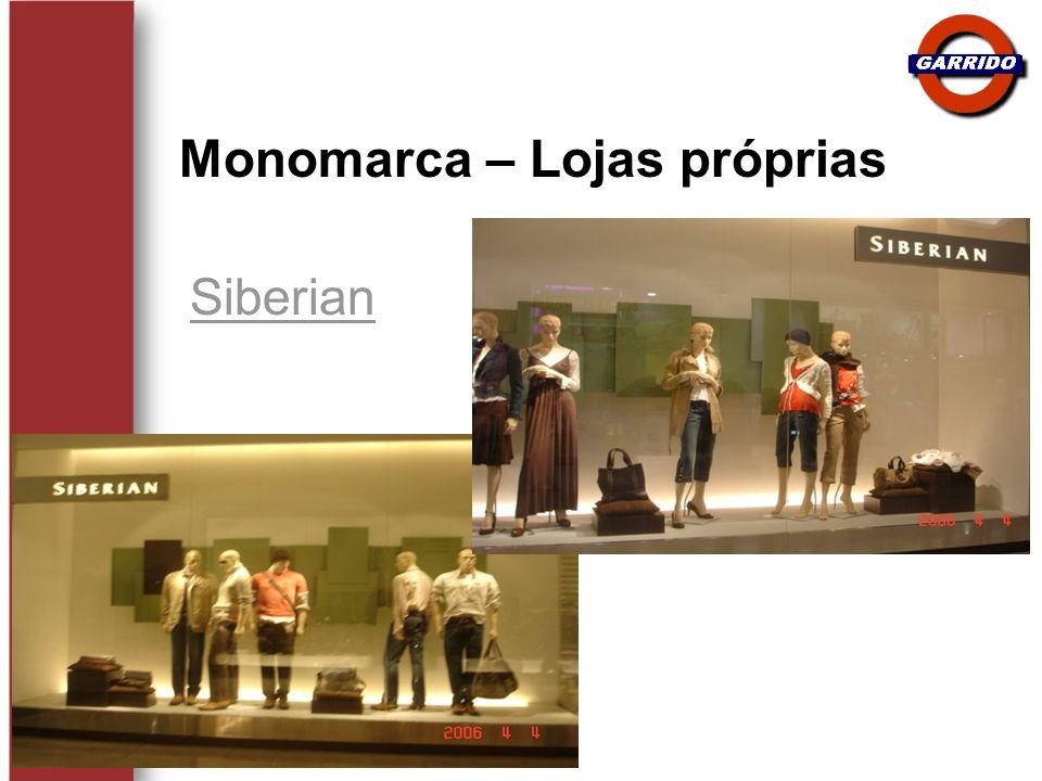Siberian Monomarca – Lojas próprias