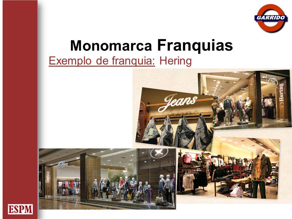 Exemplo de franquia: Hering Monomarca Franquias