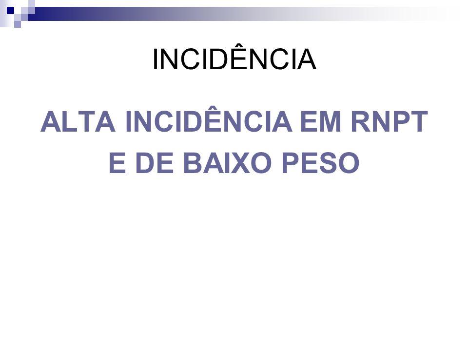 FATORES DE RISCO E AGRAVANTES Grau de Prematuridade 1.