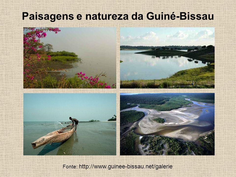 Paisagens e natureza da Guiné-Bissau Fonte: http://www.guinee-bissau.net/galerie
