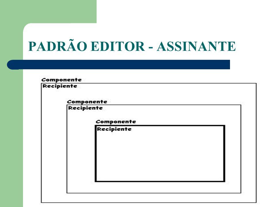 PADRÃO EDITOR - ASSINANTE