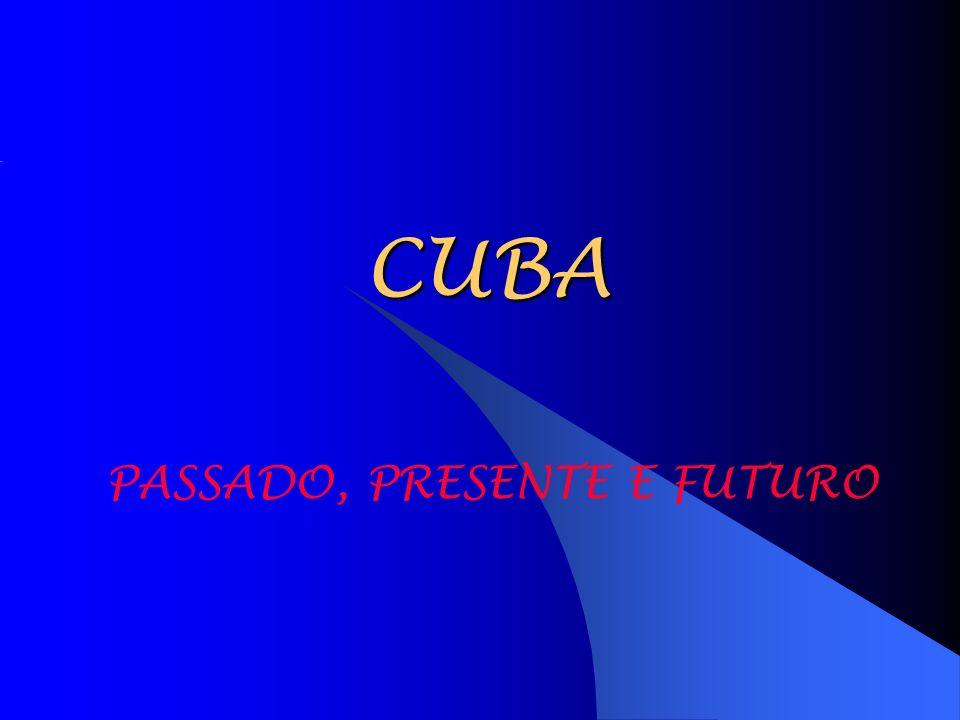 CUBA PASSADO, PRESENTE E FUTURO