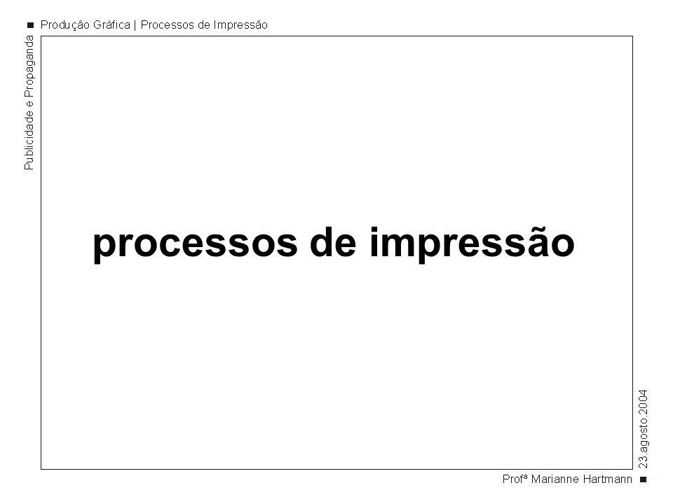impressão planográfica litografia.