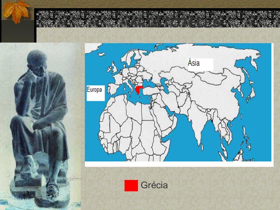 ARISTÓTELES Grécia