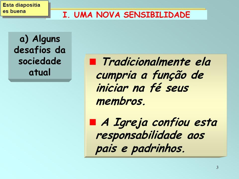 14 A Iniciação cristã é É o chamado à conversão do coração.
