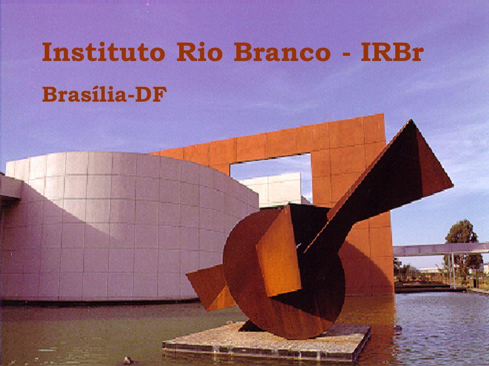 O Instituto Rio Branco Criado em 18 de abril de 1945, o Instituto Rio Branco é responsável pela formação e aperfeiçoamento dos diplomatas que integram o quadro do MRE.