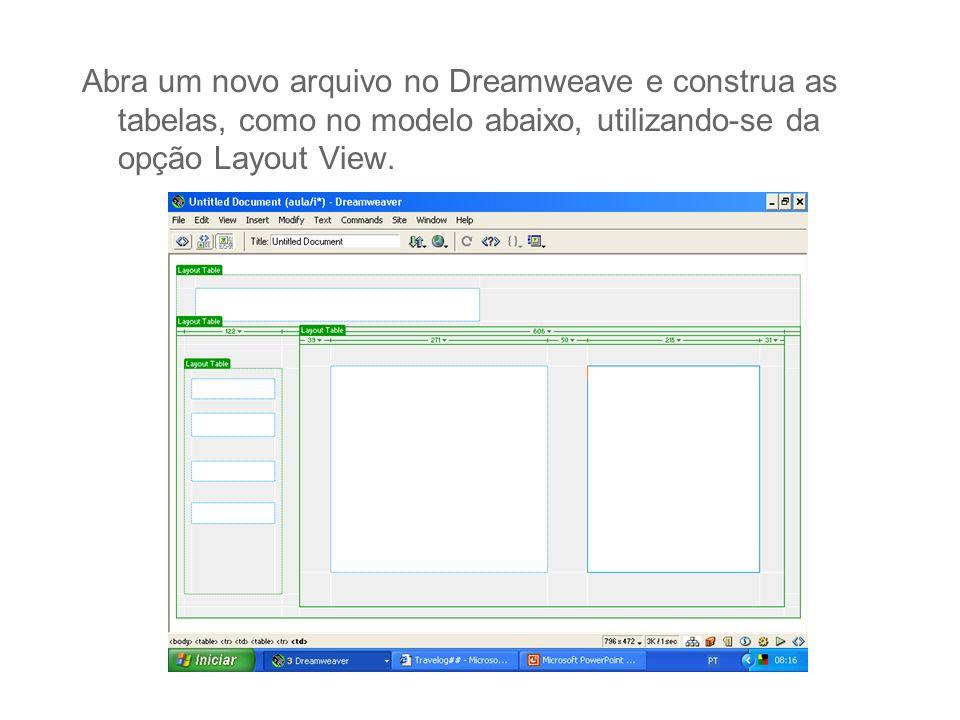 Janela Pop - Up Em Behavior selecione Open Browser Window