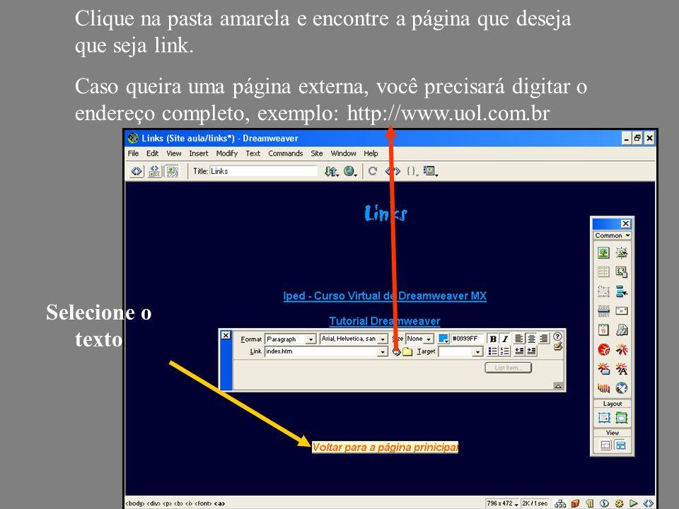 Desenhada a tabela, é possível formatar algumas características através da barra de propriedades: Table Name: Nome da Tabela; Rows: número de linhas; Columns: número de colunas; W: largura da tabela (pixels ou procentagem); H: altura da tabela (pixels ou procentagem); CellPad: espaçamento do conteúdo e a parede da tabela; CellSpace: espaçamento entre colunas; Align: Alinhamento da Tabela; Border: largura da boda; Bg: Cor de fundo da tabela; Brdr color: cor da borda; Bg Image: Especifica uma imagem de fundo