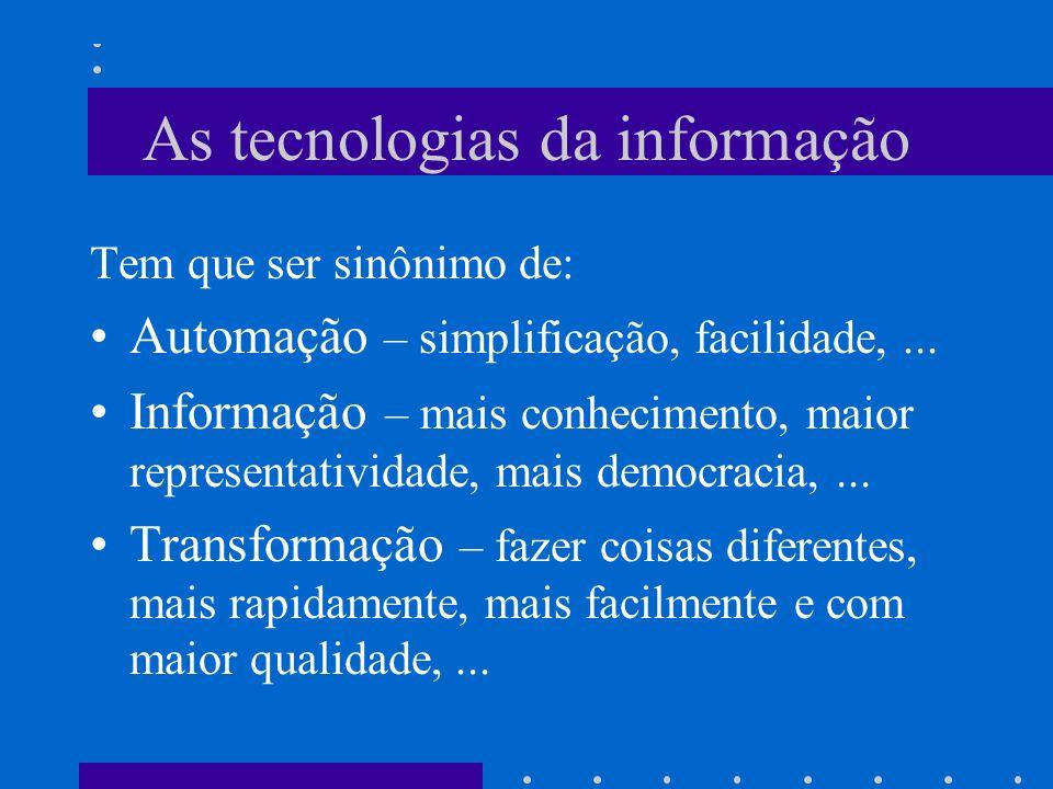 Algumas empresas alcançaram um status quase mitológico como exemplares do uso da tecnologia da informação para a obtenção de vantagem competitiva (McG