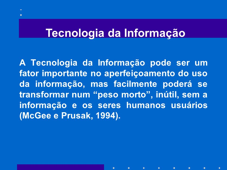 Tecnologia Visão Gerencial