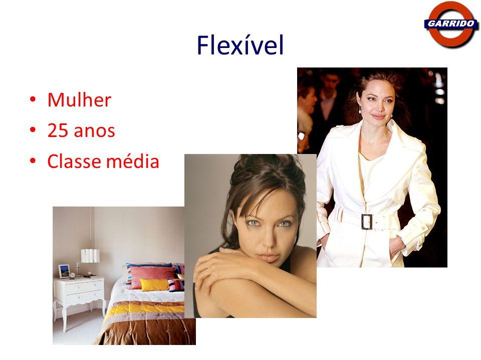 Flexível Mulher 25 anos Classe média